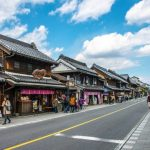 Suasana jalan utama koedo Kawagoe