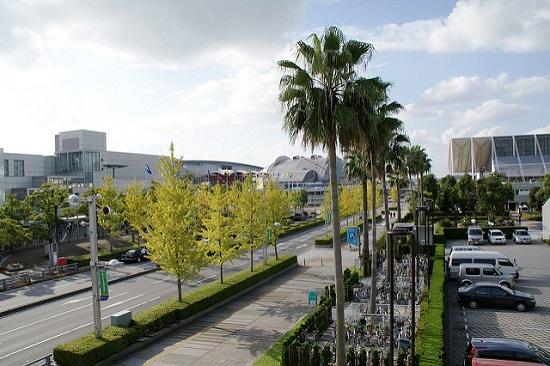 Suasana luar Makuhari Messe