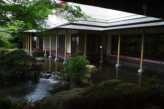 Suasana ryokan di Kinugawa Onsen