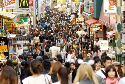 Takeshita-dori di Harajuku