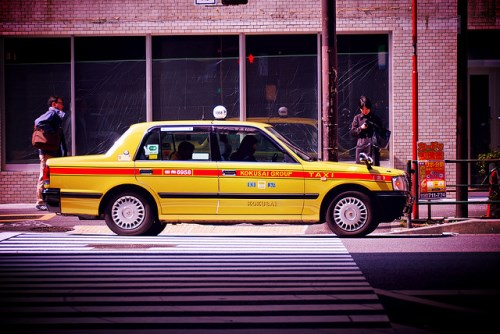 Taksi Jepang yang ongkosnya mahal