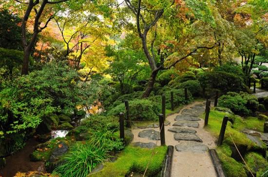 Taman Shoyoen di Kuil Rinnoji Nikko