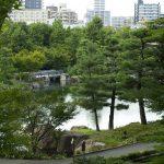 Taman Tokugawa di tengah kota Nagoya