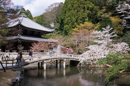 Taman Yuzen di kompleks Kuil Chionin Kyoto