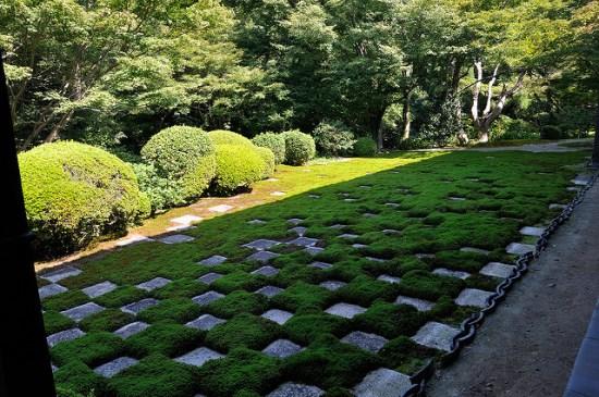 Taman sebelah barat Kuil Tofukuji