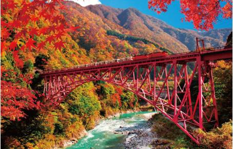 Wisata di Toyama Tebing Kurobe Kyokoku Toyama