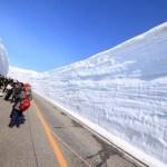 Berjalan kaki melewati tembok Salju di Tateyama