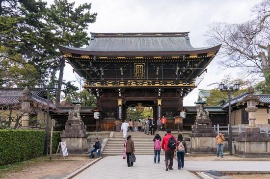 Tempat Wisata Gratis di Kyoto Kuil Kitano Tenmangu
