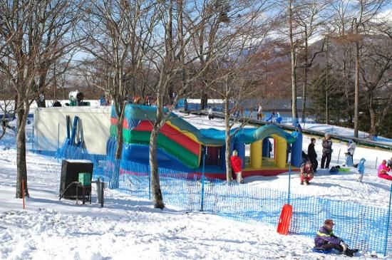 Tempat bermain anak di Karuizawa Prince Snow Resort