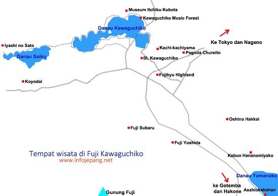 tempat wisata di fuji kawaguchiko