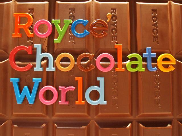 Toko Royce Chocolate World di Shin Chitose Airport