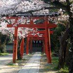 Torii Kuil Yoshida Kyoto yang terkenal