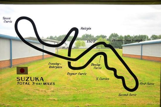 Trek Sirkuit Suzuka Jepang