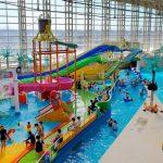 Wahana Permainan Air di Spa World Osaka