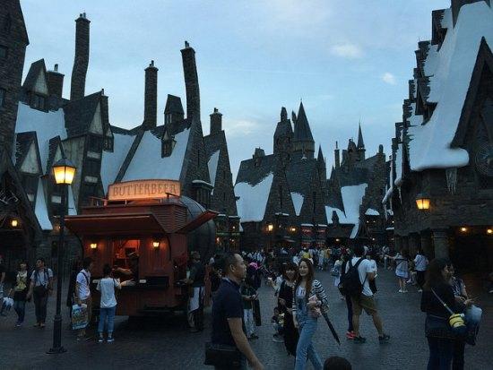 Wizarding World of Harry Potter di Universal Studio Jepang