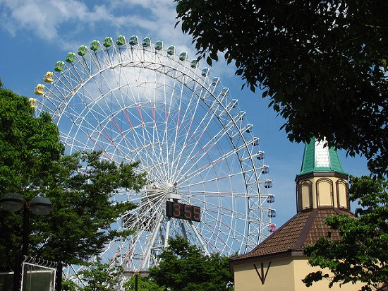 aurora wheel di nagashima spa land