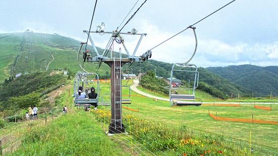 Biwako Valley di musim panas