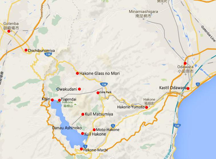 hakone map