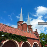 Menara di Huis Ten Bosch Art Garden