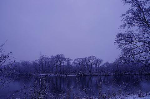 Hari-hari mendung saat musim dingin di Jepang
