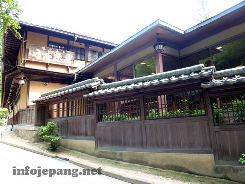 Suasana perumahan di Miyajima