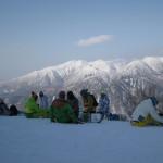 musim dingin di gunung kurodake