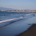 Panorama pantai Enoshima
