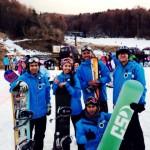 Tour bermain ski