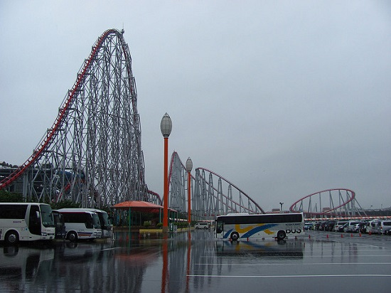 steel dragon 2000 di nagashima spa land