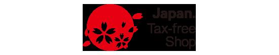 Tanda toko bebas pajak di Jepang